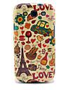 Eiffel Tower & Bread Glossy TPU Case for Samsung Galaxy S3 I9300