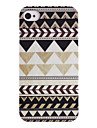 Joyland Grey Black Repeating Pattern ABS Back Case for iPhone 4/4S