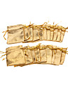 (20 шт) Classic Gold / Silver Пряжа ювелирные изделия Сумки для ежедневного