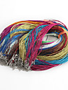 Classic Line Assorted Color Fabric Cord & Wire(10 Pcs/Lot)(Assorted Color)