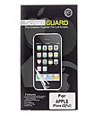 Professional High Transparency LCD Film Guard Set with Cleaning Cloth for iPhone 4/4S