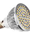 3W E14 Точечное LED освещение MR16 60 SMD 3528 240 lm Тёплый белый AC 110-130 / AC 220-240 V