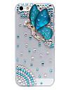 Faerie cas de dos de bijoux en métal de modèle pour iPhone 5C (couleurs assorties)