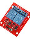 (Arduino를위한) 2 채널 5V 높은 수준의 트리거 릴레이 모듈 (아두 이노) 보드 용 (공식 작품)