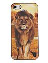 Effet 3D Tigre et Lion Housse de protection pour iPhone 5/5S