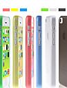 Solid Color Ultra-fina moagem de volta caso Arenoso para iPhone 5C (cores sortidas)