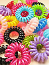 Colorful Candy Cor Telefone Fio Hairtie