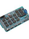 мега ю расширение датчик щит / доска для (для Arduino) мега v1.2 (работает с официальными (для Arduino) плат)