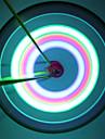 Велосипедные фары / колесные огни / Колесные огни LED Велоспорт Водонепроницаемый Люмен Батарея Велосипедный спорт-Освещение