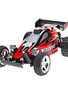 Huanqi 545A 27Mhz Super Motor Radio Control Racing Car With Lights and Off-road Tires (Random Color)
