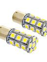 1156/BA15S 6W 24x5050SMD 490LM 5500-6500K Холодный белый свет Светодиодные лампы для автомобилей (12V, 2шт)