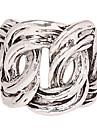 Кольца Для вечеринок Повседневные Бижутерия Сплав Женский Классические кольца 1шт,7 8 Серебряный