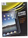 Anti-finger Print Professional High Transparency Screen Guard with Microfiber Cloth for iPad 2/3/4