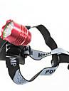 Фонарь велосипедный передний светодиодный 3 режимный с лампой Cree XM-L T6 1200 люмен (4-1T63MBL)