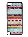 Shimmering Nationality Pattern Hard Case for iPod touch 5