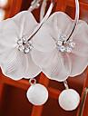 Boucle Boucles d'oreille goutte Bijoux Mariage / Soirée Alliage Femme Blanc