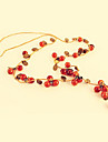 European and American jewelry retro sweet little cherry full aesthetic temperament necklace N116