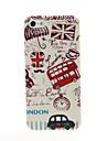 London Red Bus Pattern Plastic Hard Case for iPhone 5/5S