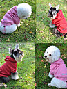 Winter Cotton / Polar Fleece Coats / Hoodies / Pants for Dogs Red / Pink / Gray / Yellow XS / M / XL / S / L