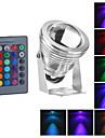 водонепроницаемый 10w RGB LED открытый сад лампа ИК-пульт дистанционного управления 16colors прожектор (12-18v)