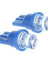 T10 0,2 Вт Синий свет Светодиодные лампы для автомобилей (DC 12 В, 2 шт)