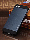 Joyland Brief Metal Wire Drawing Back Case for iPhone 5/5S(Assorted Color)