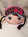 Девушка с Пигтейл Shaped текстильной кошелек (Random Color)