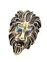 Европейский и американский Vintage ювелирные изделия полной трехмерной Lion Аватара кольцо