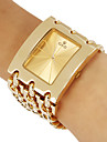 Women's Dress Style Gold Steel Chain Band Quartz Wrist Watch (Assorted Colors) Cool Watches Unique Watches