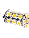 5W G4 LED лампы типа Корн T 24 SMD 5050 370 lm Тёплый белый / Холодный белый DC 12 V