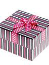 Motif Décor bowknot ligne cubique boîte de montre