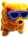 drôle électrique marche aboiements jouet pour chien avec des lunettes (alimenté par 4 piles AA non fournies)