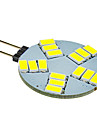 5W G4 Точечное LED освещение 15 SMD 5630 330 lm Холодный белый DC 12 V