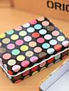 Μαύρο ορθογώνιο Ground πολύχρωμο Dot Tin Box