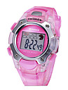 Children's SYNOKE LEO Dial Digital PU Band Water Resistant Wrist Watch Cool Watches Unique Watches
