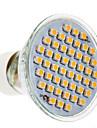Spot Blanc Chaud GU10 3 W 48 SMD 3020 200 LM AC 100-240 V
