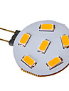 2.5W G4 LED Spotlight 6 SMD 5730 120-150 lm Warm White / Cool White DC 12 / AC 12 V