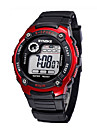 Children/Men's SYNOKE LEO Dial Digital Black PU Band Water Resistant Wrist Watch Cool Watches Unique Watches