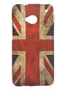 Англия флаг шаблон ТПУ мягкий чехол для HTC ONE M7