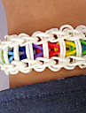 Loom Bands Kit Diy Bracelet(600 PCS,With S-Clips or C-Clips,1 Specification,1 Crochet Needle)