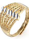 Золотая полоса регулируется кольцо Мисс rose®men игровая