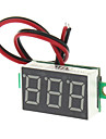 "V20D 0.56"" LED Two Line 3-Digital Direct-Current Voltmeter Meter Module - White + Green (DC 2.5~30V)"