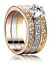luxuriou женщин Tranparent кубического циркония кольцо (1шт)