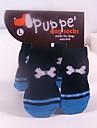 Meias e Botas para Cães / Gatos Vermelho / Azul Inverno S / M / L Algodão