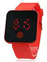 Unisex Touchscreen LED Digital Silicone relógio de pulso Band (cores sortidas)