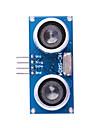 초음파 센서 HC-SR04 거리 측정 단위 - 블루 + 실버