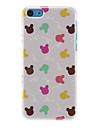 Colorful Rabbits Pattern Hard Case For iPhone 7 7 Plus 6s 6 Plus SE 5s 5c 5 4s 4