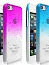 Capa Transparente Rígida com Design de Gotas para iPhone 5C