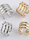 Европейское женское Многоцветный Сплав три слоя Мода кольцо (золото, серебро) (1 шт)