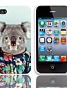Beau modèle Koala Hard Case avec protection d'écran 3-Pack pour iPhone 4/4S